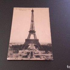 Postales: POSTAL 78 PARIS - LA TOUR EIFFEL - PRIMEROS AÑOS DEL SIGLO XX. NO CIRCULADA . Lote 85308328