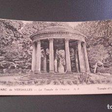 Postales: POSTAL 16 LE PARC DE VERSAILLES - LE TEMPLE DE L ' AMOUR - PRIMEROS AÑOS DEL SIGLO XX. NO CIRCULADA. Lote 85308628