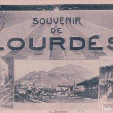 Postales: POSTAL LOURDES 96 - SOUVENIR DE LOURDES - P DOUCET - CIRCULADA. Lote 86212520
