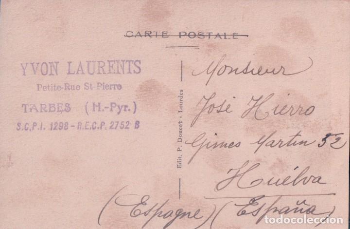 Postales: POSTAL LOURDES 96 - SOUVENIR DE LOURDES - P DOUCET - CIRCULADA - Foto 2 - 86212520
