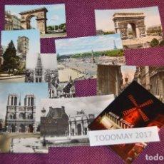 Postales: LOTE 8 POSTALES SIN CIRCULAR - FRANCIA - PARIS - DIJON - AÑOS 50 / 60 - VINTAGE - ¡¡HAZME OFERTA!!. Lote 86229684