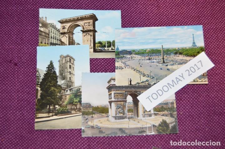 Postales: LOTE 8 POSTALES SIN CIRCULAR - FRANCIA - PARIS - DIJON - AÑOS 50 / 60 - VINTAGE - ¡¡HAZME OFERTA!! - Foto 2 - 86229684