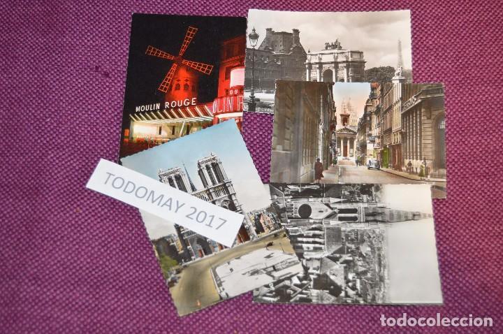 Postales: LOTE 8 POSTALES SIN CIRCULAR - FRANCIA - PARIS - DIJON - AÑOS 50 / 60 - VINTAGE - ¡¡HAZME OFERTA!! - Foto 3 - 86229684