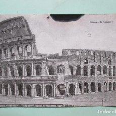 Postales: 3575 ITALIA ITALIE ITALY LAZIO ROMA ROME IL COLOSSEO 1913. Lote 86234376