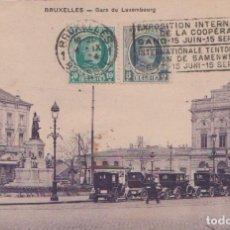 Postales: BRUSELAS - GARE DU LUXEMBURG. Lote 86461072