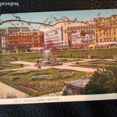 Postales: PICCADILLY GARDENS MANCHESTER TARJETA POSTAL SIN CIRCULAR . Lote 86734580