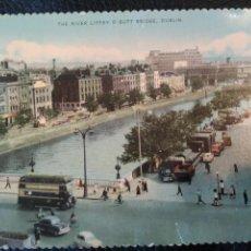 Postales: THE RIVER LIFFEY BUTT BRIDGE DUBLIN D.1123.L TARJETA POSTAL SIN CIRCULAR. Lote 86735164