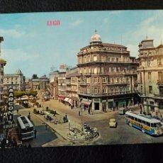 Postales: POSTAL Nº 112 LUGO: PLAZA DE SANTO DOMINGO. (EDICIONES PARIS Nº 331 AÑOS 70). Lote 86735492
