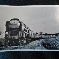 Postales: 10468 BOURNEMOUTH BALLE BRITISH RAILWAYS PHOTOS POSTAL SIN CIRCULAR TREN LOCOMOTORA. Lote 86735948