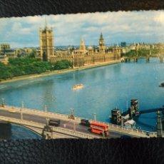 Postales: HOUSES OF PARLIAMENT LONDON POST CARD POSTAL SIN CIRCULAR. Lote 86739300