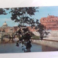 Postales: ROMA-PONTE E CASTEL S. ANGELO-TARJETA POSTAL. Lote 86762800