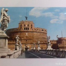 Postales: ROMA-PONTE Y CASTEL S.ANGELO-TARJETA POSTAL. Lote 86762888
