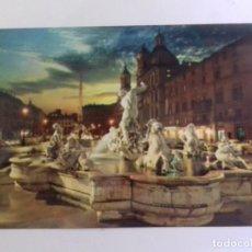 Postales: ROMA-PLAZA NAVONA-TARJETA POSTAL. Lote 86762948