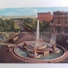 Postales: ROMA-PLAZA ESEDRA-TARJETA POSTAL. Lote 86762992