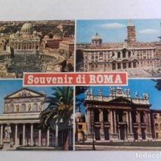 Postales: ROMA-SOUVENIR DE ROMA-TARJETA POSTAL. Lote 86763076
