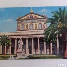 Postales: ROMA-BASILICA DI S PAOLOI-TARJETA POSTAL. Lote 86763224