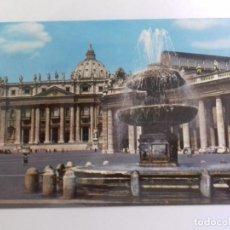 Postales: ROMA-PLAZA DE SAN PEDRO-TARJETA POSTAL. Lote 86794948