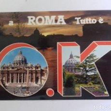 Postales: ROMA-ROMA TUTO E OK-TARJETA POSTAL. Lote 86795112