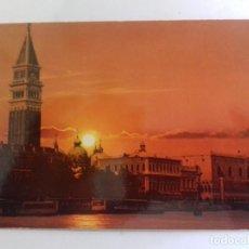 Postales: VENECIA-PANORAMA AL ATARDECER-TARJETA POSTAL. Lote 86802700