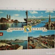 Postales: POSTAL - SUIZA - ZURICH. Lote 86965448