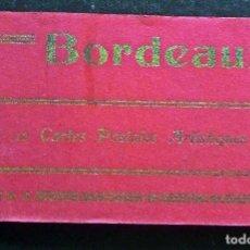 Postales: CARPETA CON 12 POSTALES DE BURDEOS - BORDEAUX. PRINCIPIOS SIGLO XX . Lote 87045556