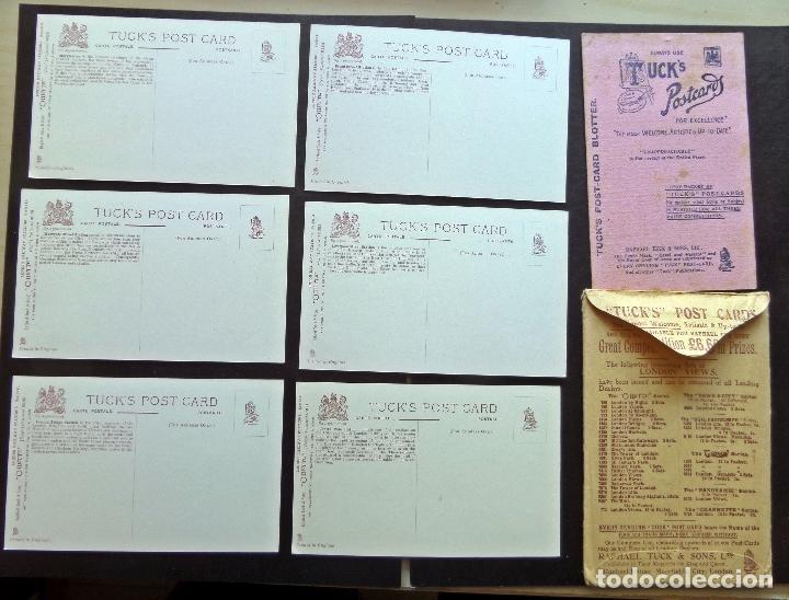 Postales: 6 postales originales de época de Estaciones de Ferrocarril Londres. Editadas por Tucks Post Carts - Foto 2 - 87061864