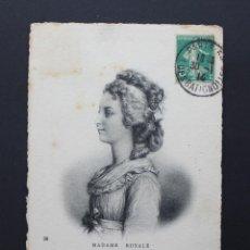 Postales: FRANCIA TARJETA MAXIMA, MADAME ROYALE, MATASELLO PARIS 1914. Lote 87353284