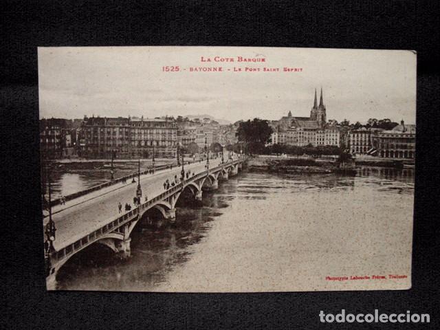 (XEU-14) POSTAL FRANCIA BAYONNE LE PONT SAINT ESPRIT- BAYONA LADO VASCO-ED. LABOUCHE-PPIO 1900 (Postales - Postales Extranjero - Europa)