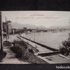 Postales: (XEU-32)-POSTAL ST JEAN DE LUZ LA BAIE, LA RHUNE ET LE CASINO- LADO VASCO –ED. LABOUCHE-PPIO 1900. Lote 87606284