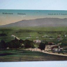 Postales: VALENÇA - PORTUGAL - EXPLANADA - POSTAL CIRCULADA EN 1911. Lote 97142104