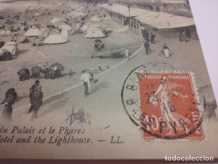 Postales: Biarriz 1919. El casino municipal y playa. País vasco (Francia) - Foto 2 - 87875068