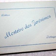 Postales: MONASTERIO DE LOS GERÓNIMOS LISBOA PORTUGAL ACORDEÓN 10 POSTALES. Lote 88224272