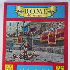 Postales: ROME 80 FOTOCOLOR ROMA ITALIA POSTALES UNIDAS. Lote 88956908
