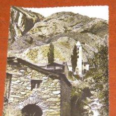 Postales: POSTAL ANTIGUA DE ANDORRA EN BLANCO NEGRO COLOREADA. SIN USAR.. Lote 94472636
