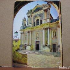 Postales: POSTAL ANTIGUA FRANCIA: MENTON.- L'EGLISE SAINT-MICHEL. Lote 90830485