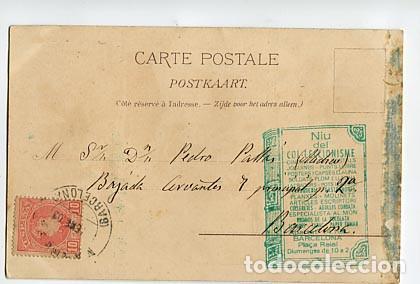 d446723d3 Postales  BRUSELAS BRUXELLES 1897 SOUVENIR LA KERMESSE ED. MÜLLER   TRUB.  LITOGRÁFICA