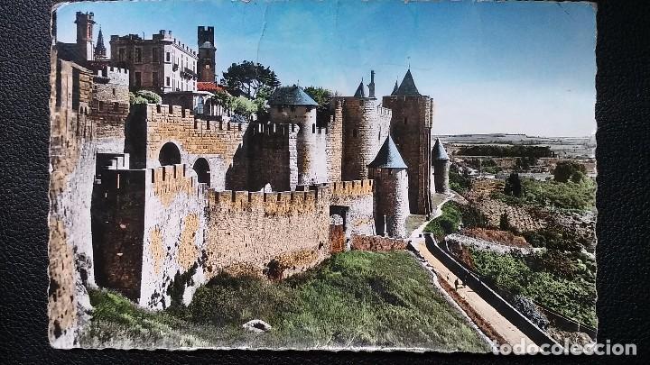CARCASSONNE - AUDE -( FRANCIA ) ENSEMBLE DE LA PORTE D'AUDE - 6469 (Postales - Postales Extranjero - Europa)