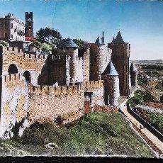 Postales: CARCASSONNE - AUDE -( FRANCIA ) ENSEMBLE DE LA PORTE D'AUDE - 6469. Lote 91553995