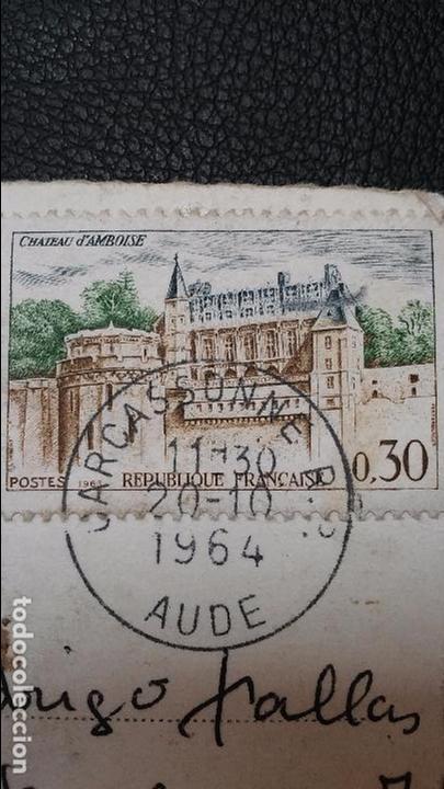 Postales: Carcassonne - Aude -( Francia ) Ensemble de la Porte dAude - 6469 - Foto 3 - 91553995