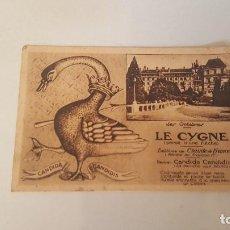 Postales: LE CYGNE - EMBLEME DE CLAUDE DE FRANCE. Lote 92252515