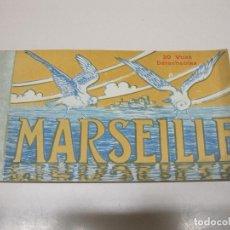 Postales: ALBUM 20 POSTALES MARSEILLE. 20 VUES DÉTACHABLES. IMP. T. OLIVE. Lote 92983890