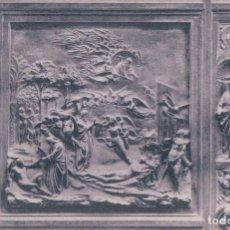 Cartoline: ITALIA - FIRENZE - BALLISTERO - PORTA IN BRONZO ALL'EST - LA CREAZIONE DI ADAMO ED EVA - GHIBERTI. Lote 93073190