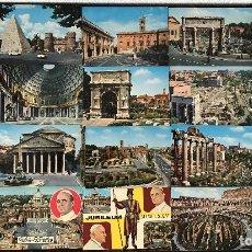 Postales: 29 POSTALES DE ROMA Y VATICANO 1976. Lote 93137010