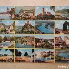 Postales: ANTIGUA POSTAL -10*15- KOLN KOBLENZ DER RHEIN ALEMANIA - CAJON. Lote 93365090