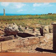 Cartoline: POSTAL ANTIGUA ITALIA. CIRCULADA CON SELLO.- CROTONE.- CAPOCOLONNA.- 1966. Lote 93873270