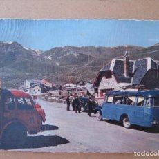 Postales: 2 POSTALES EL PASO DE LA CASA - VALLES DE ANDORRA - ADUANA FRANCESA. Lote 94191605