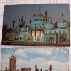 Postales: LOTE 2 POSTALES CIRCULADAS LONDRES 1965. Lote 94372536