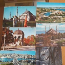 Postales: LOTE 6 POSTALES ESTAMBUL. Lote 94374400