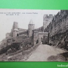 Postales: 3998 FRANCIA FRANCE AUDE CITÉ DE CARCASSONNE CARCASONA LES AVANTS PORTE DE L´AUDE 1918. Lote 94525798