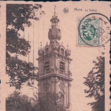 Postales: POSTAL BELGICA - BÉLGICA / HAINAUT / MONS - MONS - LE BEFFROI. Lote 94691635